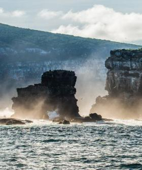 Iconic Natural Rock Formation, Darwin's Arch, Crumbles Into Ocean