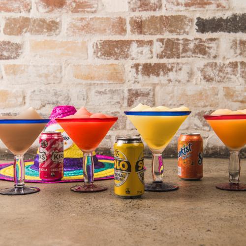 El Camino Cantina Is Serving Up Soda Flavoured Margaritas!
