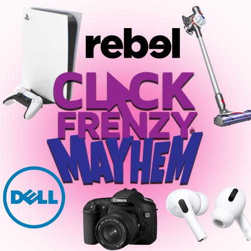 Click Frenzy Mayhem Starts TONIGHT With PS5 For $6 And Apple MacBooks For $14!