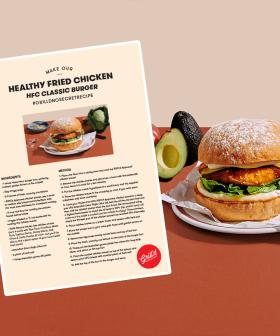 Grill'd Has Released The Recipe For One Of Their Brand New Fried Chicken Burgers!