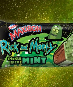 Maxibon's Teamed Up With Rick & Morty To Create The Pickle Rick Mint Maxibon!