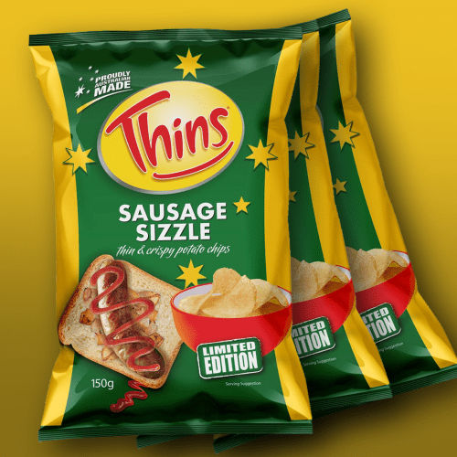Did We All Know That Sausage Sizzle-Flavoured Crisps Were A Thing?