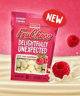 FruChocs Have Released A White Choc Raspberry Flavour!