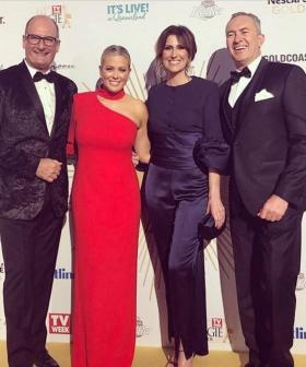 Samantha Armytage Brushes Off Questions About Nat Barr & It's A Bit 'Sus'