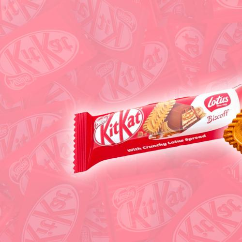 KitKat Have Just Dropped A New Special Edition Biscoff Lotus Flavoured Choccy Bar!
