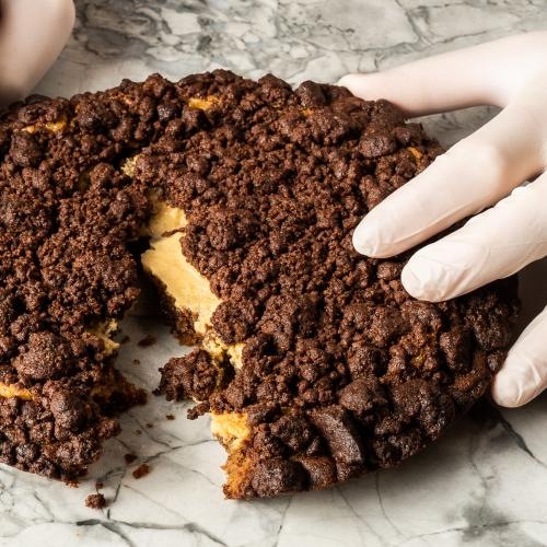 Messina's Releasing The Indulgent Choc Malt Cheesecake Cookie Pie... HELP