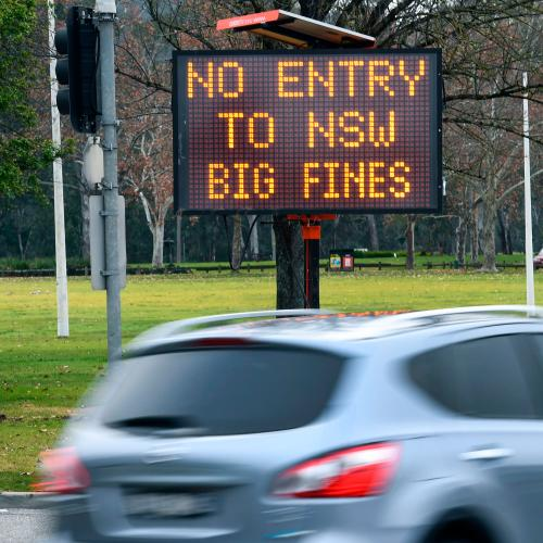 Victoria Locks Out ALL Of New South Wales and ACT Following COVID Spike