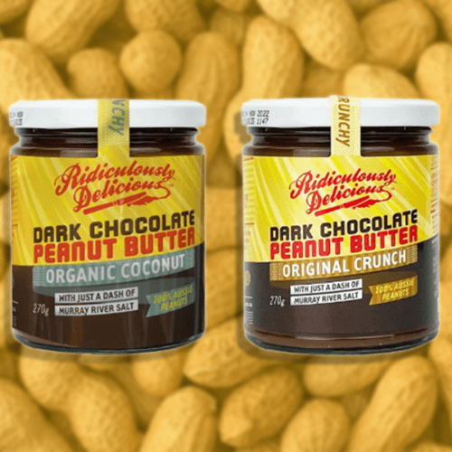 Aussie Brand 'Ridiculously Delicious' Have Dropped Dark Chocolate Peanut Butter!