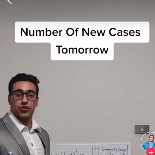 We've Figured Out How The TikTok Guy Is Correctly Predicting Case Numbers!