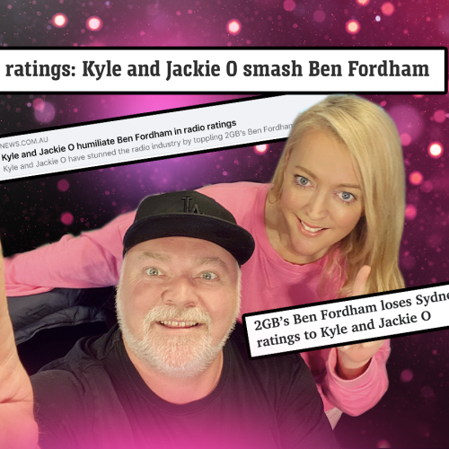 Ben Fordham Left HOW MANY Messages On Kyle's Phone While He Was Too Busy Celebrating??