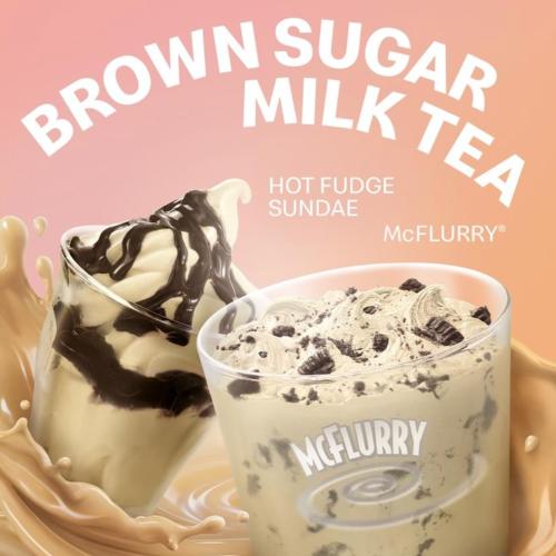 Are Aussies Getting Brown Sugar Milk Tea McFlurries Or Not?!