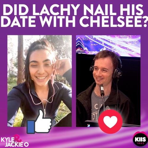 Beauty & The Geek's Lachy Had A Zoom Date With A Real Woman Live On-Air!