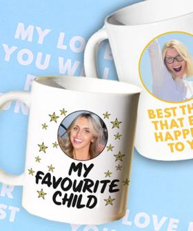 Remind Your Dad That You Are His Favourite Child With These Personalised Mugs For Father's Day