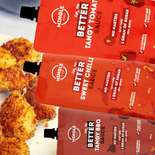 This NEW Brand Of Sauces Boast Up To 400% Less Sugar, And They're Worth A Try!