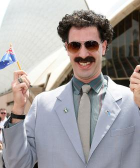 Does This Confirm That Sacha Baron Cohen Will Be Performing At The AFL Grand Final?