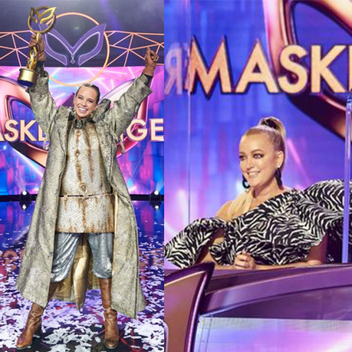 Jackie Reveals The Moment Covid Shutdown Last Year's Finale of The Masked Singer