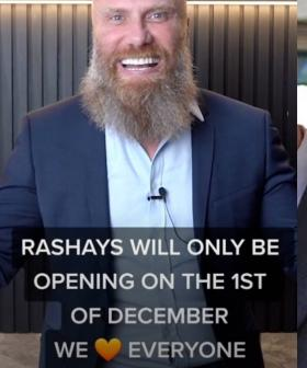 Restaurant Chain Rashays Will Not Open Until DECEMBER When Unvaccinated People Can Visit