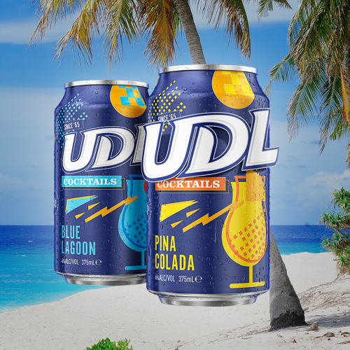 UDLs Have Released Cocktails In A Can So You Can Sip A $5 Pina Colada On The Beach