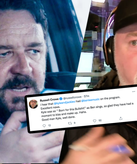 Russell Crowe Forces Kyle Sandilands To Apologise To This Musician Live On-Air!