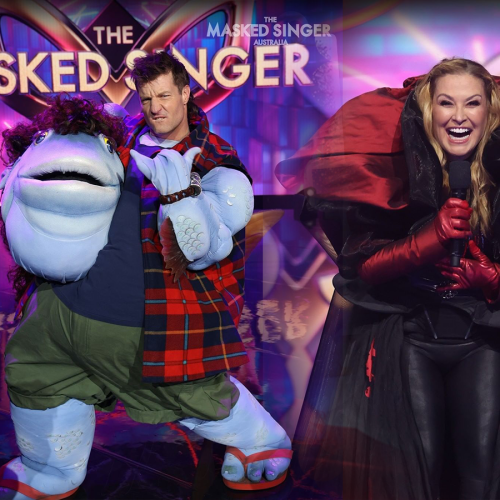 Anastacia Reveals She Heard Axel Doing WHAT In His Mullet Costume?!